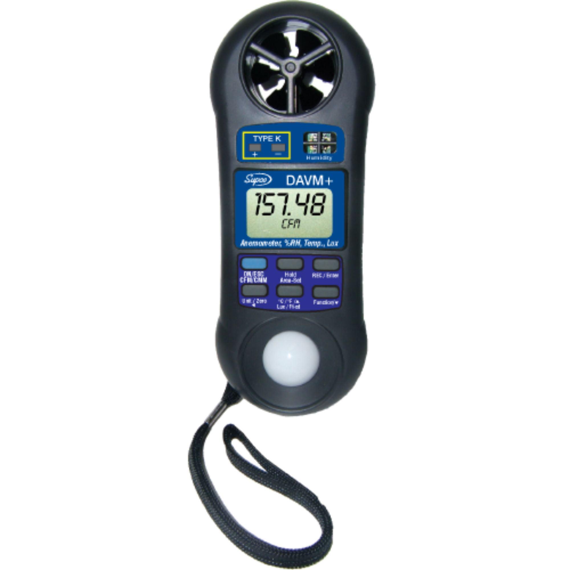 DAVM+ Genuine OEM Supco Digital Air Flow/Volume Meter