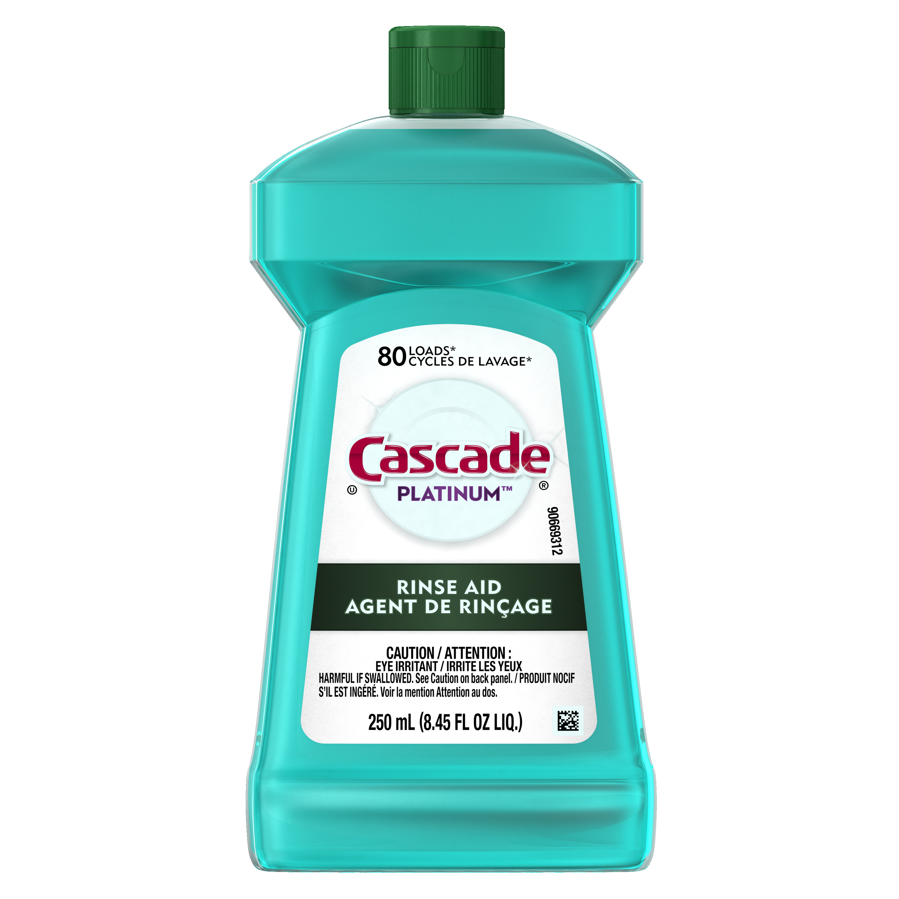 Cascade Platinum Rinse Aid, 8.45 ounces