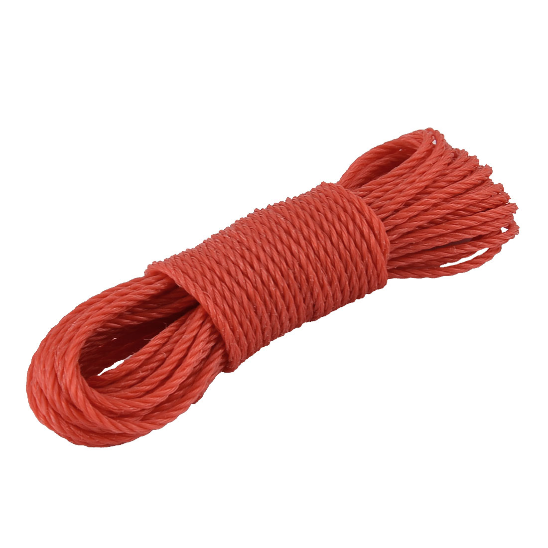 Laundry Nylon Sweater T-shirt Clothesline Hanger Rope String Red 10m Length