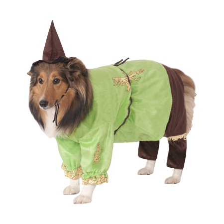 Wizard of Oz's Scarecrow Dog Halloween Costume - Large - Scarecrow Dog Costume