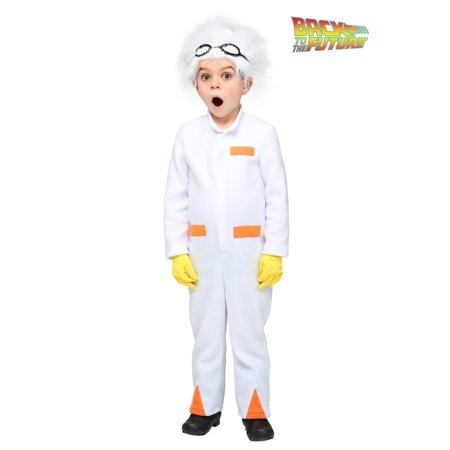 Back to the Future Toddler Doc Brown Costume - image 2 of 6