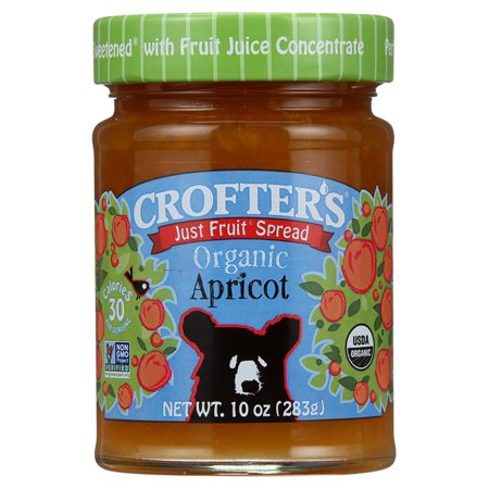 Crofters Just Fruit Spread   Apricot 10 Oz Jars   Pack Of 3