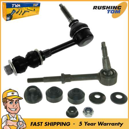 2 Front Sway Bar Links Kit Pair For Dodge Ram 2500 3500 2003-2005 Pickup 4x4 4WD ()