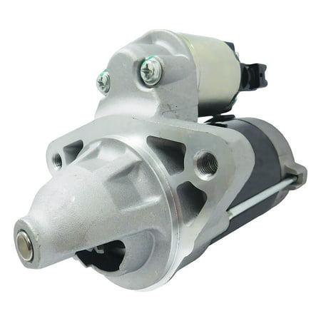 NEW EMS Global Direct Starter For Denso 428000-1261, Toyota 28100-75190 - Global 2 Piece Starter