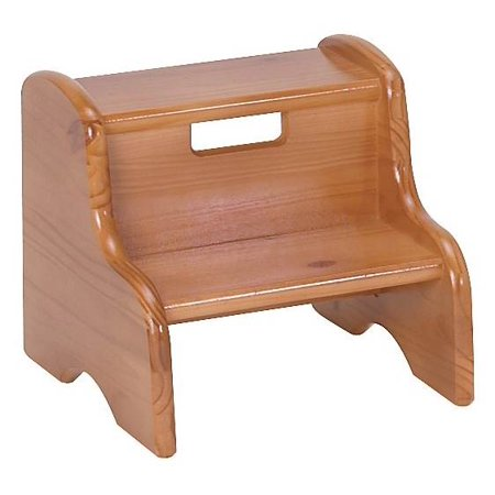 Kid S 12 In Step Stool Unfinished Walmart Com
