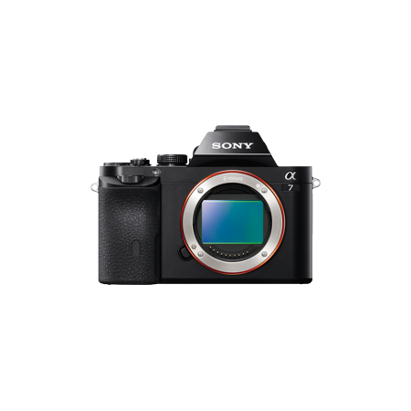 Sony Alpha A7 Full Frame Mirrorless Camera   Black