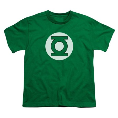 Youth: DC-Green Lantern Logo Apparel Kids T-Shirt - Green