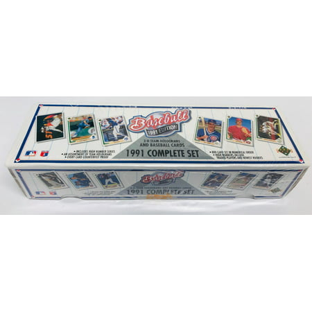 1991 Upper Deck Baseball Factory Set (1991 92 Upper Deck)