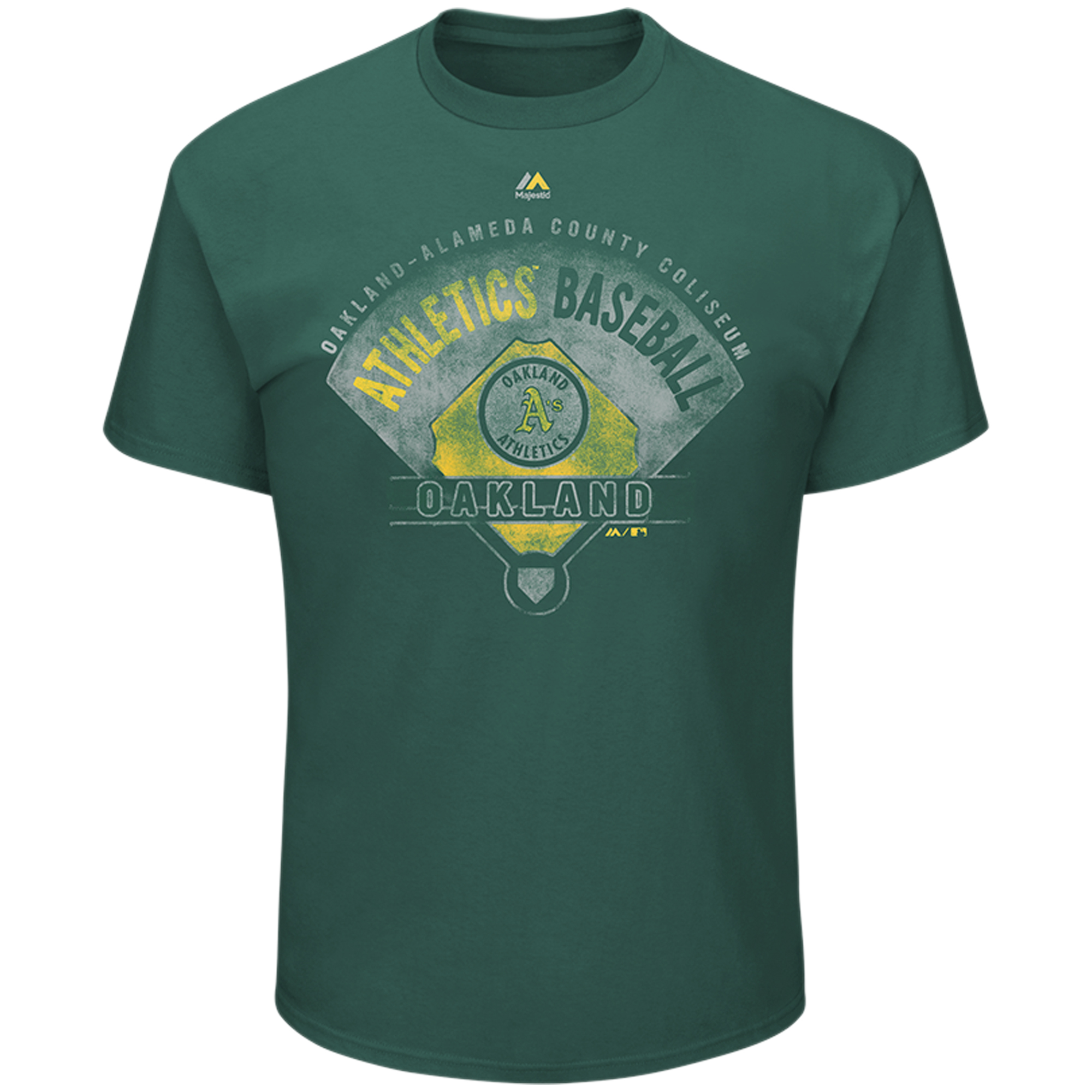 Oakland Athletics Cooperstown Collection Strategic Advantage T-Shirt - Green