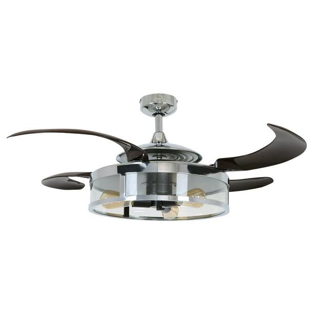 4 Blade 48 Inch 3 Light Ceiling Fan