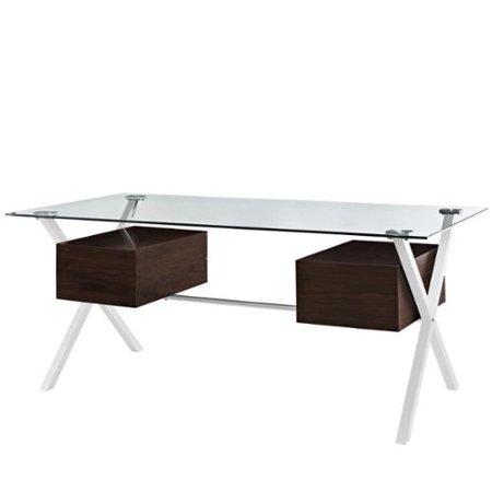 Abeyance Office Desk Walnut