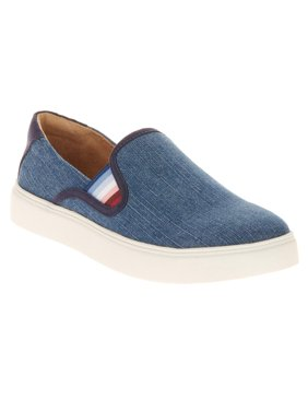 EV1 from Ellen DeGeneres Women's Slip On Canvas Sneaker (Indigo)