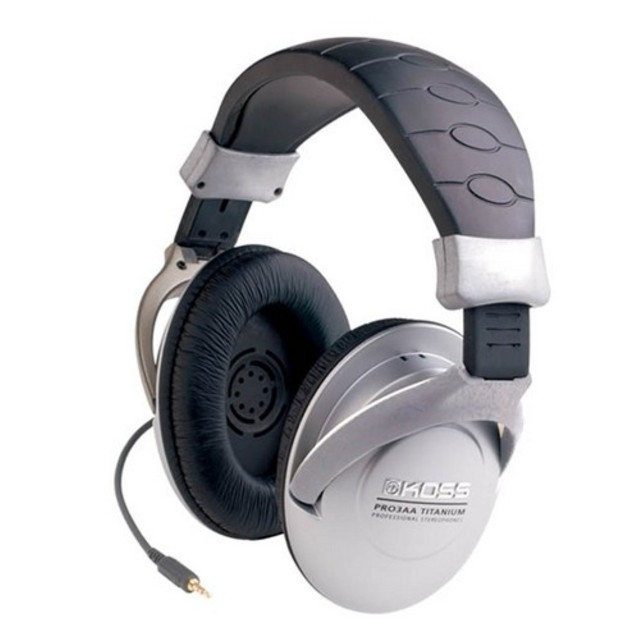 Koss PRO-3AA Home Stereo Headphone Wired 60 Ohm 15 Hz 20 (Refurbished) by Koss