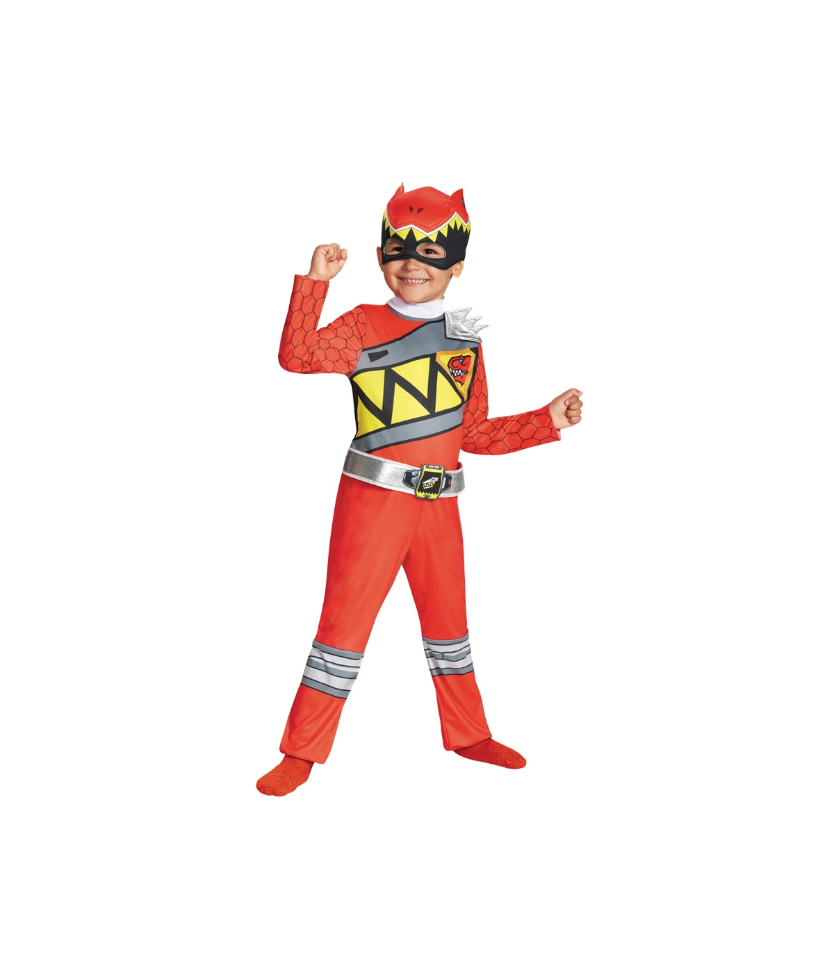 Red Power Rangers Dino Thunder Little Boys Costume by