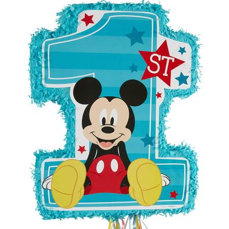 Mickey Mouse 1st Birthday Pinata - Minnie Mouse Pinatas