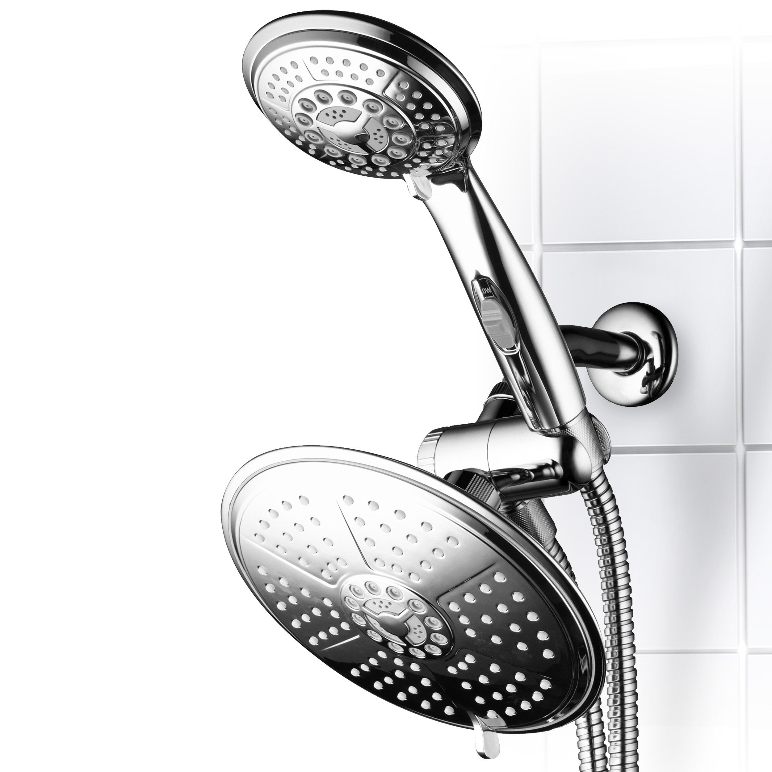 DreamSpa 3-Way Rainfall Combo with Patented ON/OFF Pause Switch