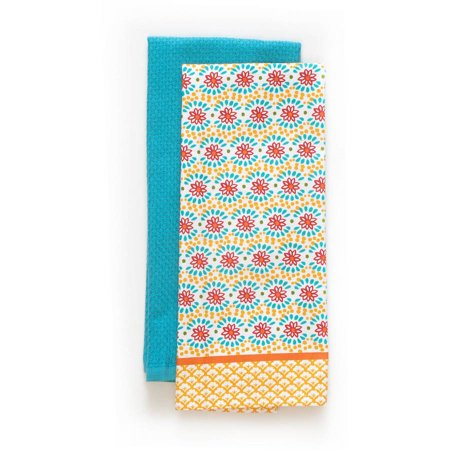 The Pioneer Woman Daisy Chain Kitchen Towel, 2 Piece