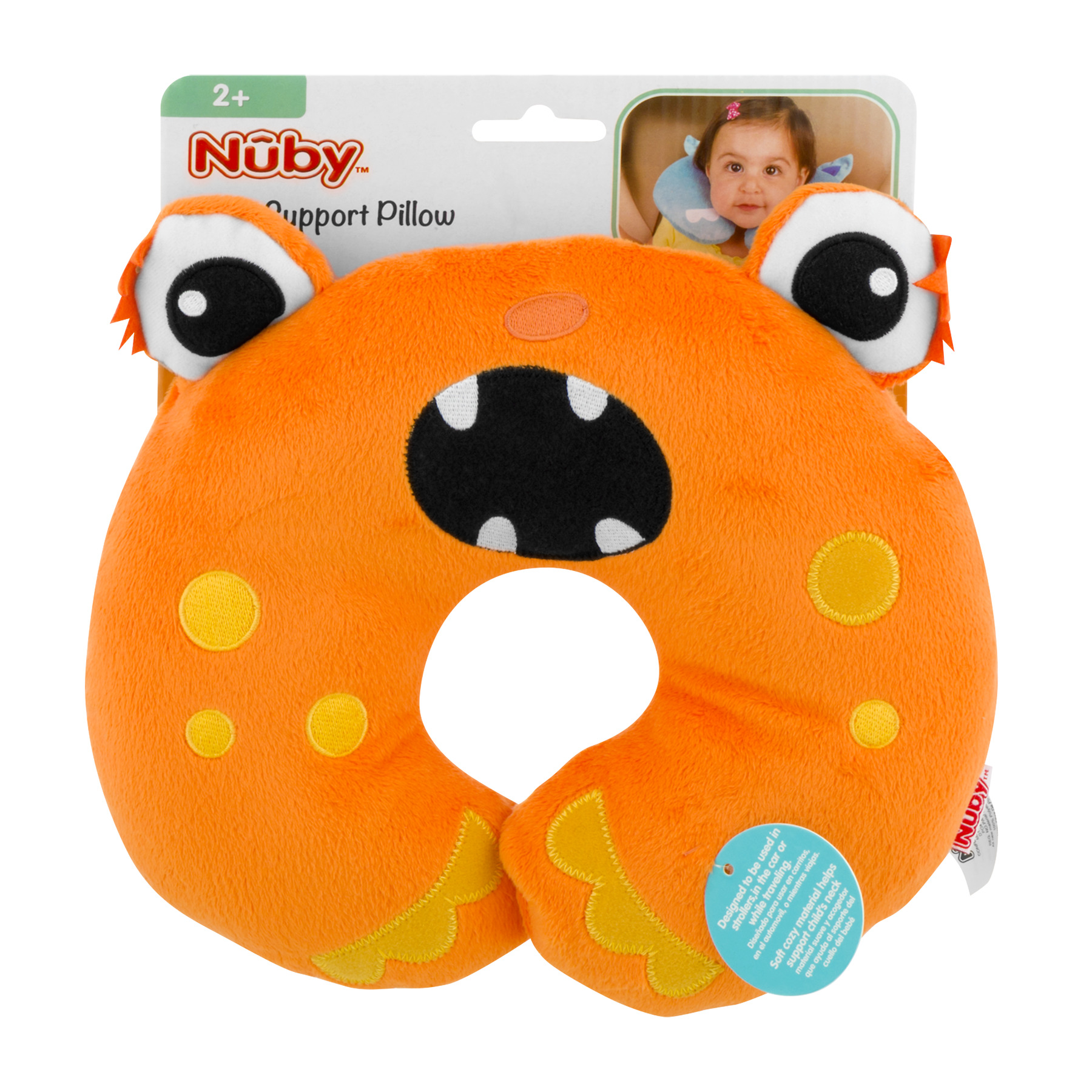 Nuby Neck Support Pillow, 1.0 CT by Nuby