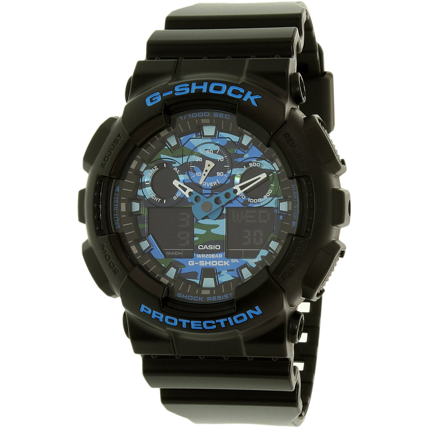 Casio Men's G-Shock GA100CB-1A Black Resin Japanese Quartz Sport Watch