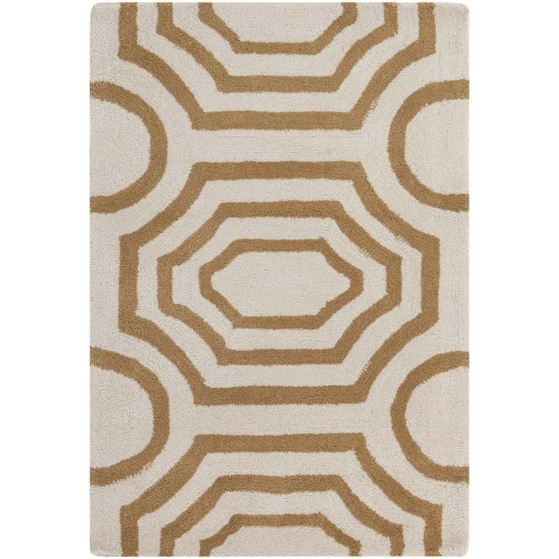 Surya Hudson Park 2' x 3' Hand Tufted Rug in Neutral