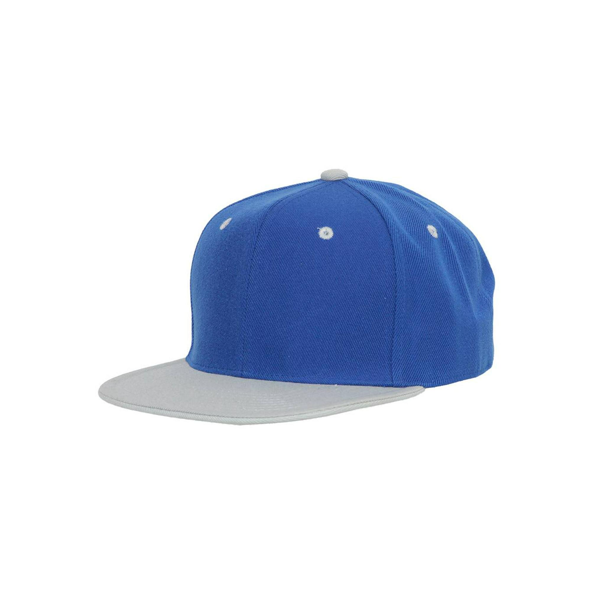 c335ce9a CTH Vintage Snapback Cap Hat 2 Tone, Royal Blue Orange | Walmart Canada