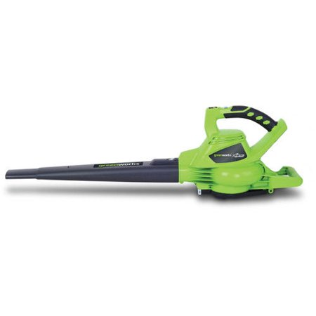 Greenworks 40V 185 MPH Variable Speed Cordless Blower Vacuum, Battery Not Included
