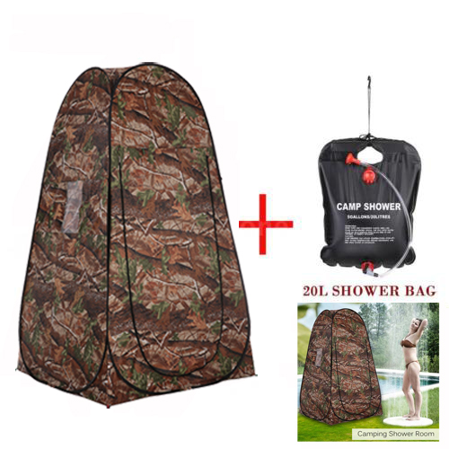 Outdoor Portable Privacy Shower Bath Changing Room Tent Camp Toilet Shelter +20L Shower... by