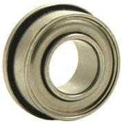 EZO SFR2-5ZZA3MC3SRL Ball Bearing,0.1250in Dia,40 lb,Flanged