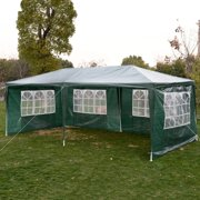 Wedding Party Tent Outdoor 10'x20' Easy Set Gazebo BBQ Canopy Cater Events Green