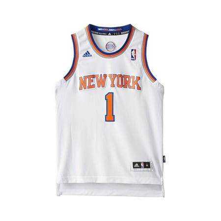 buy online 4f783 82cef Adidas Boys NY Knicks Stoudemire Swingman Jersey white S - Big Kids (8-20)