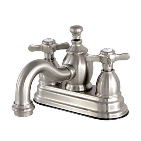 Essex Lavatory - Kingston Brass Essex Centerset Lavatory Faucet with Drain Assembly
