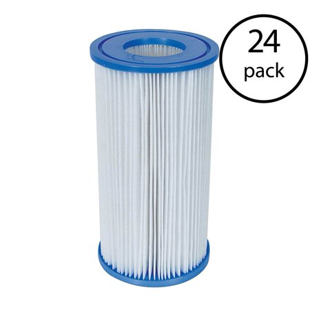 Coleman Type III A/C Swimming Pool Filter Pump Replacement Cartridge (24 Pack) - image 8 de 8