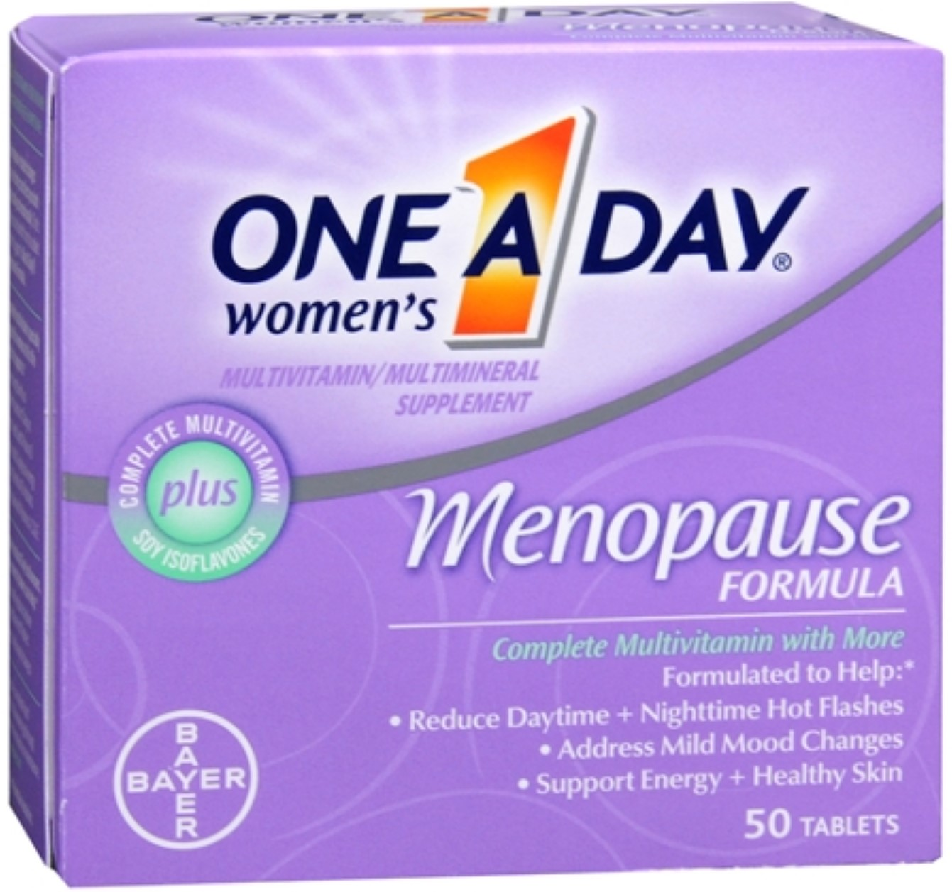 One-A-Day Menopause Formula Complete Women's Multivitamin 50 Tablets (Pack of 2)