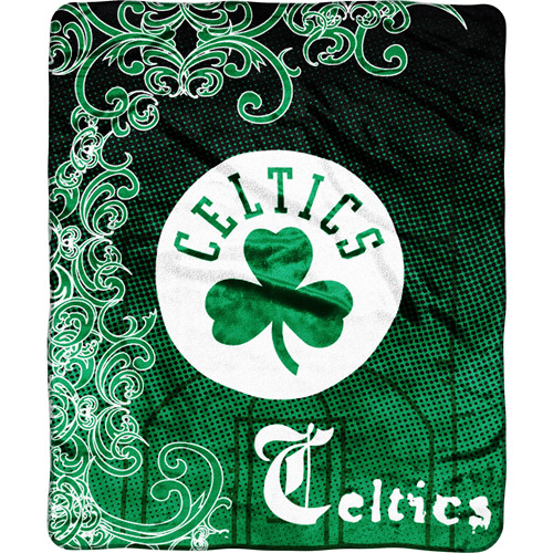 NBA Boston Celtics Micro Raschel Throw