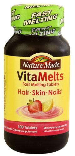 Nature Made VitaMelts Hair-Skin-Nails Biotin