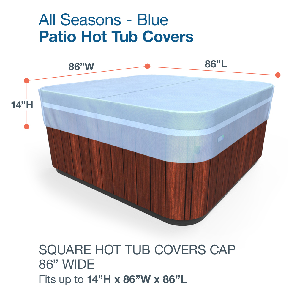 Budge All-Seasons Hot Tub Covers, Durable and Waterproof Outdoor ...