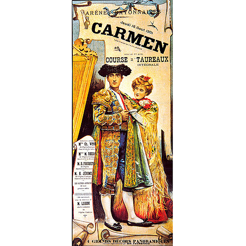 "Trademark Fine Art ""Carmen"" Canvas Art, 10x24"