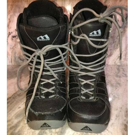 MORROW RAIL SNOWBOARDING Boots Mens Size US 10 Eur 43.5-RARE VINTAGE-SHIP N 24HR