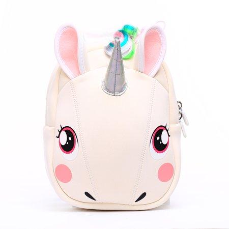 332bc8464 Cute Pre K Backpack Cartoon 3D Unicorn Animal Preschool Durable Backpacks  for Kindergarten Toddlers Girls Boys 1 to 5 Years Old Kids