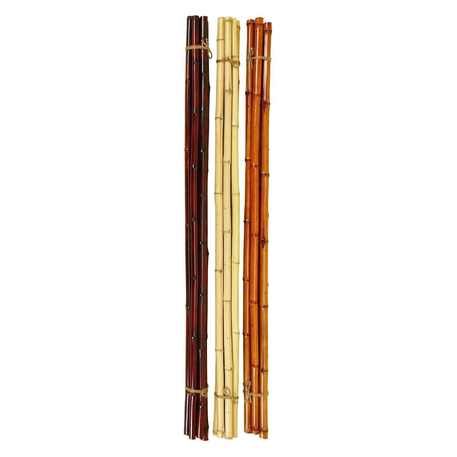 DecMode Bamboo Bunch Sculpture Set of 3 by Benzara