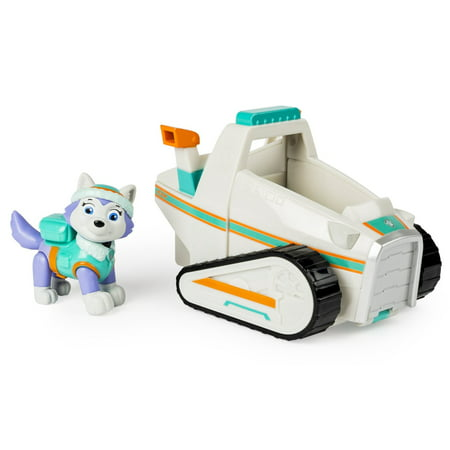 Nickelodeon Toy - Paw Patrol - Everest's Rescue Snowmobile - Everest Figure and Vehicle