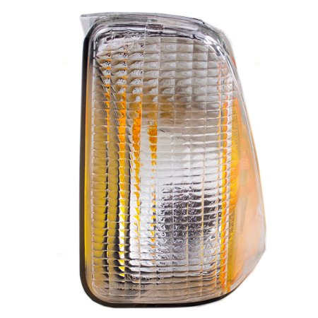 Corner Lights Lens - Drivers Park Signal Corner Marker Light Lamp Lens Replacement for Ford Van F69Z13201AA
