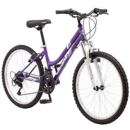 """24"""" Roadmaster Granite Peak Girls Mountain Bike, Purple"""