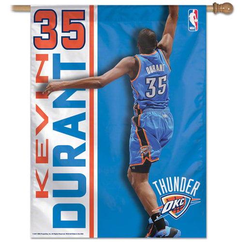 NBA - Kevin Durant Oklahoma City Thunder Vertical Flag: 27x37 Banner