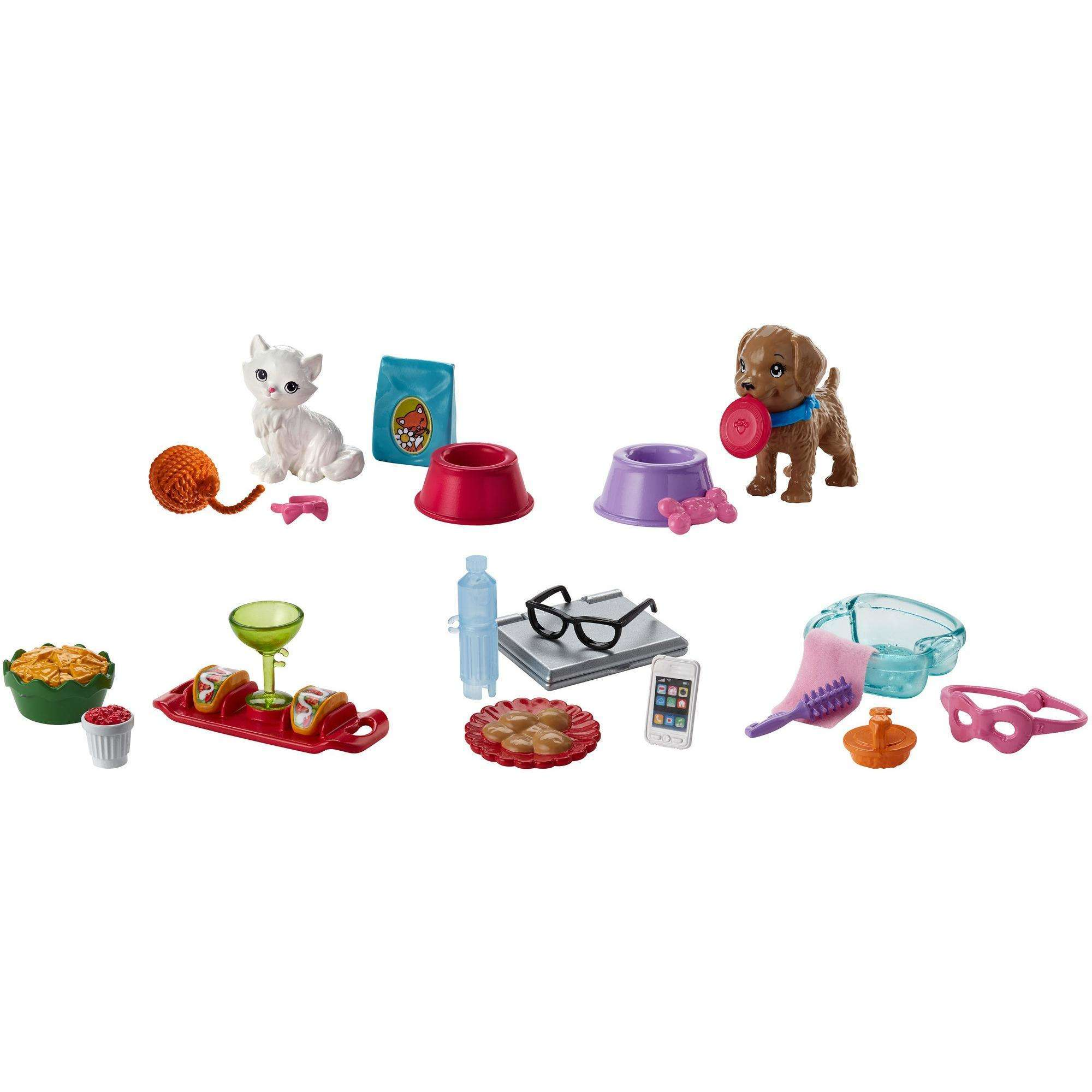 Barbie Accessory Pack with 5-Themed Pieces (Styles May Vary)