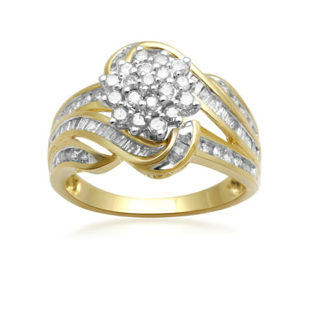 1 Carat T.W. Diamond 10kt Yellow Gold Fashion Ring
