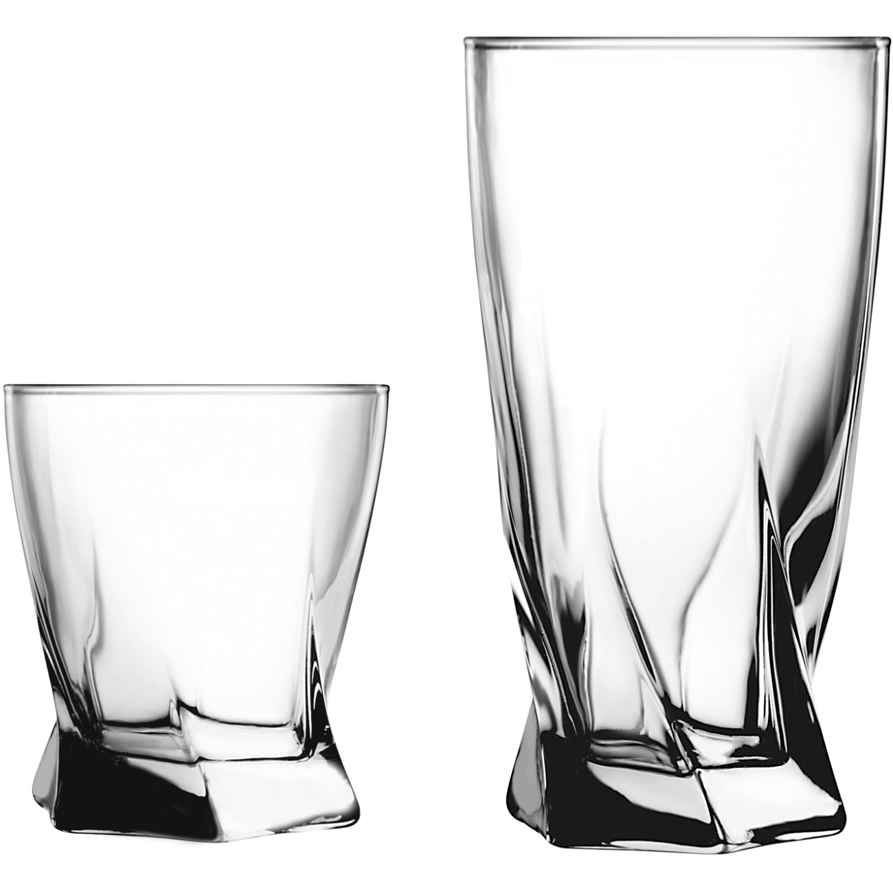 Click here to buy Anchor Hocking Sybil 16 Piece Drinkware Set by Anchor Hocking Glass Company.