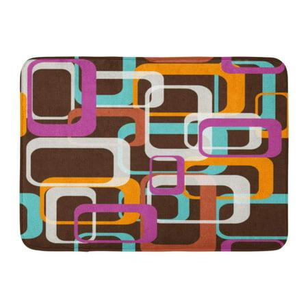 SIDONKU Pattern 70 Classic Retro Disco 1970 Neon Pop Rock Doormat Floor Rug Bath Mat 23.6x15.7 - 70 80 Disco Fashion