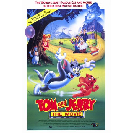 Tom and Jerry (1990) 11x17 Movie Poster