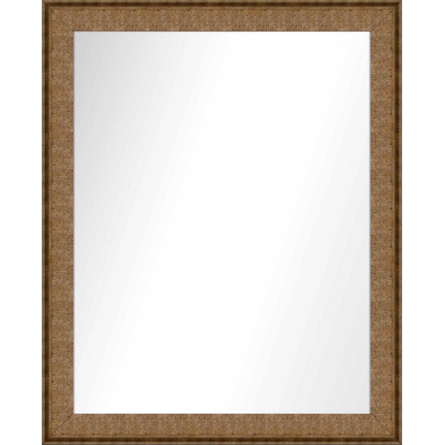 Vanity Mirror, Gold, 25.5x31.5 by PTM Images
